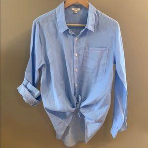 Dylan Cotton Button down blouse